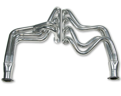 "80-95 F250 Base, Super Cab V8 5.0 AT Flowtech Headers - Primary Tube Collector Size 1.5"" x 2.5"" Modify Stock Exhaust to Retain Cat. Converter, Not Legal for Street Use (Ceramic)"
