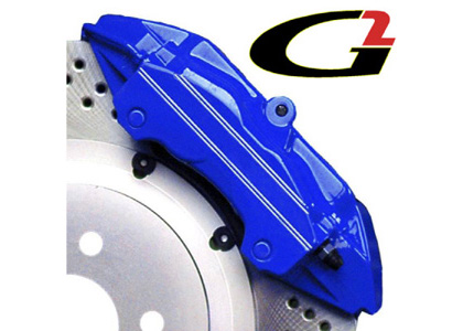 1992-1997 Isuzu Trooper G2 Caliper Paint - High Temperature Brake Caliper Paint System Set (Blue)