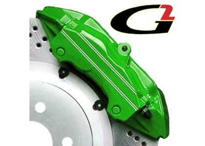 G Brake Caliper Paint System Green