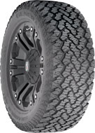 All Jeeps (Universal) General Grabber AT2 Studdable 35X12.50R18D1 118Q B