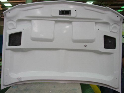 07 Chevrolet Suburban Good Hood Fiberglass Hoods - Ram Air Kit
