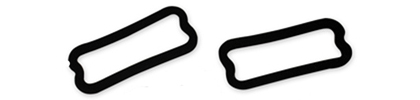 66-67 GTO Goodmark Lens Gaskets For Parking Light