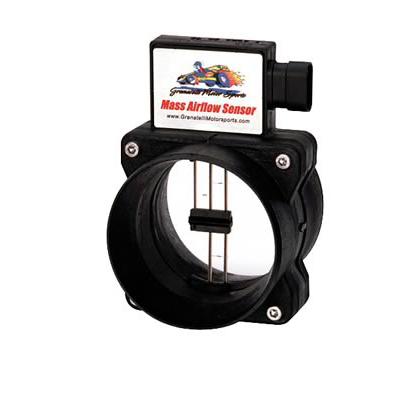 96-09 GM 4.3L Granatelli Motorsports Mass Air Flow Sensor w/ Cold Air Tuning (Black)