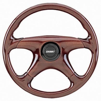 1169 Grant Mirage Steering Wheel 14 Quot Diameter Mahogany