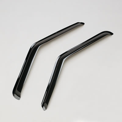 04-09 Armada GTS Ventgard Window Visors for Front Doors (Smoke)