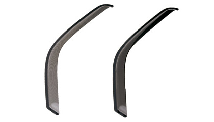 93-96 Mitsubishi Mirage GTS Side Window Deflectors - Ventgard-Sport (Smoke)