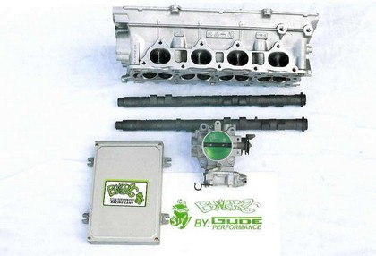 92-93 Honda Prelude  H23 DOHC Gude Performance Head Package (Includes $475 core charge that can be refunded with return of cores)