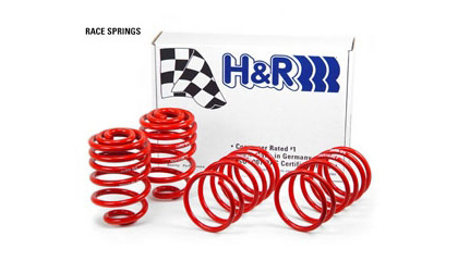 Honda 88-91 CRX H&R Lowering Springs - Race (Lowers Front:2-1/4 inch/ Rear:2.0)
