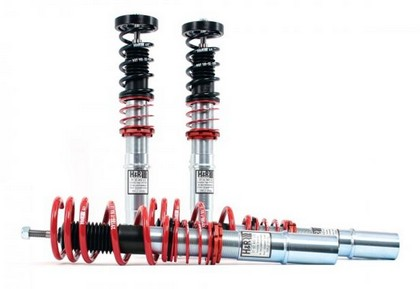 "2006-2008 Lincoln MKZ V6 H&R Street Performance Coilover Kit - Lowers Front: 1.25"" to 2.5"", Rear: .75"" to 2.0"""
