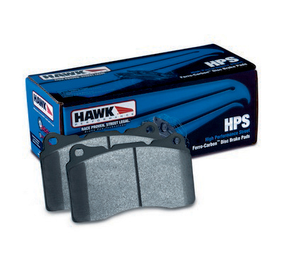 FRONT BRAKE PADS FOR:;;? 1993-1999 Saturn SW1;;? 1993-2001 Saturn SW2 Hawk High Performance Street Brake Pads
