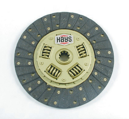 1968-1979 Lincoln Continental Base Hays Street and Strip Clutch Plate - Borg And Beck (10.5 Inch Diameter)