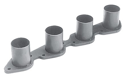 "Ford 289-351W Hedman Header Flanges w/ Stubs (Tube Diameter: 1 5/8"")"