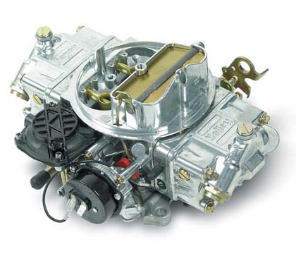 67-69 Catalina Base, Ventura V8 7.0 Holley Carburetor - Street Avenger, 4 bbl, 770 cfm, Vacuum Secondary, Automatic Choke, Shiny Zinc