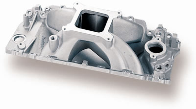 73-85 K20 Suburban V8 7.4 Holley Intake Manifold - Power Band To 8500 RPM, Rectangular Port, Street/Strip Use Only