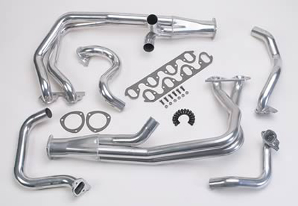 70-71 Ford Ranchero 500, Base, Gt, Squire Hooker Super Compeition Header (Metallic Ceramic Coating) (Full Length) (Tube 2 1/8 in. x 37 in. O.D.) (Collector Size 3.5 in. O.D.) (Collector Length 10 in.) (Port Shape Same As Port)