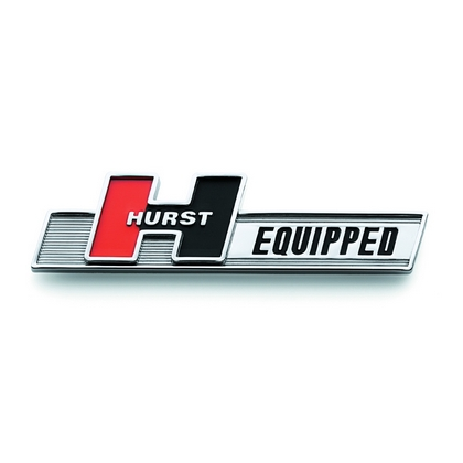 "Vehicles with Hurst Products Hurst ""Hurst Equipped"" Emblem"