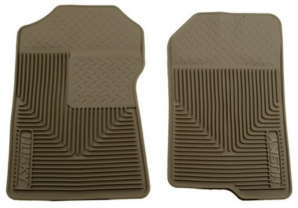2002 Lincoln Blackwood Husky Heavy Duty Flexible Front Floor Mats ? Tan