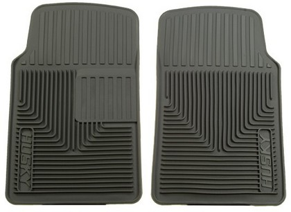 2001-2006 Dodge Stratus Husky Heavy Duty Flexible Front Floor Mats ? Grey