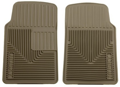 2001-2006 Dodge Stratus Husky Heavy Duty Flexible Front Floor Mats ? Tan