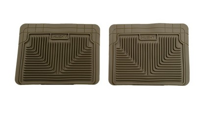 1964-1972 Mercury Cyclone Husky Heavy Duty Rear Floor Mat ? Tan