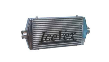 Universal - Fits all Cars Icevex Intercoolers - Bar and Plate Core w/ End Tanks (Core: 21 x 12 x 3 Inch)