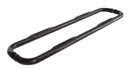 07-10 Jeep Wrangler Unlimited 4Dr  ICI 3 Inch Cab Length Nerf Bars (Black)