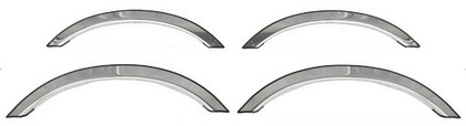 05-10 Dodge Charger 4Dr  ICI Fender Trim 4 Pcs 3/4 Fit