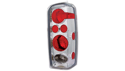 97-01 Jeep Cherokee In Pro Car Wear Tail Lights - Crystal Clear