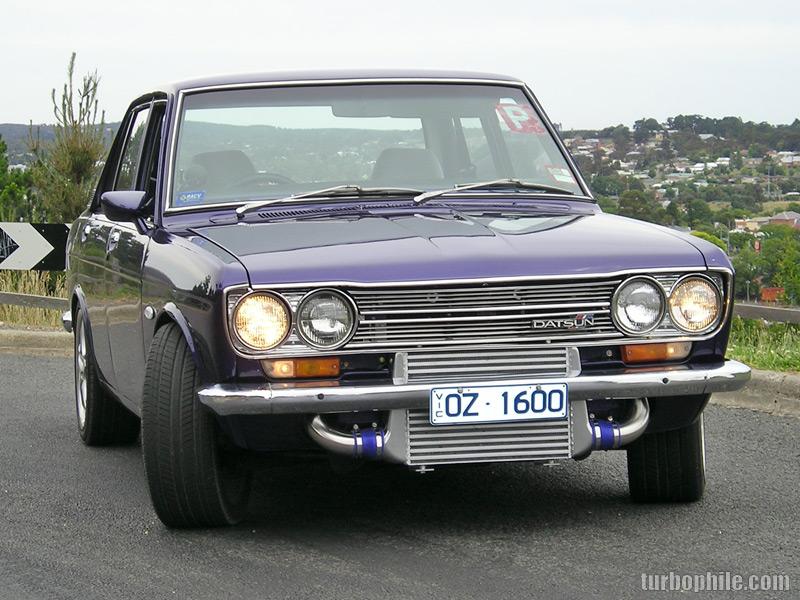 Sr20det Datsun 1600 Intercooler