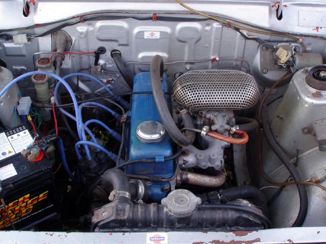 Brendan's Datsun 1200 Coupe
