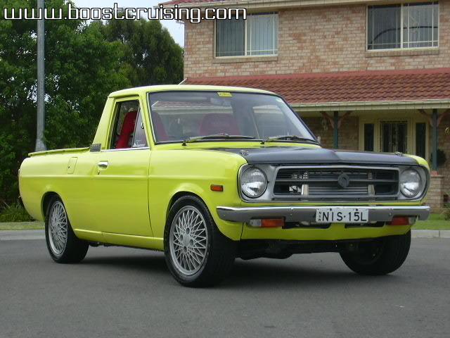 Daves Auto Sales >> Luke's CA18DET Datsun 1200 Ute