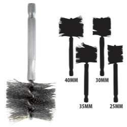 1968-1976 BMW 2002 Innovative Products Of America 25-40 MM Stainless Steel Brush Kit