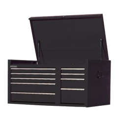 "2007-9999 Jeep Patriot International Tool Box 41"" x 24"" 9 Drawer Top Chest - Black"
