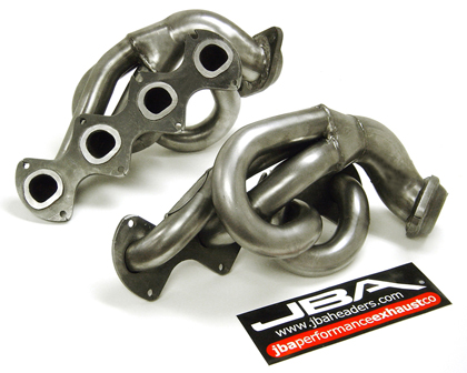 00-02 Dakota 4.7L JBA Stainless Steel Shorty Header