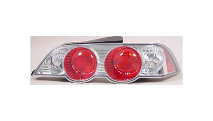 95-98 Toyota Tercel JKL Tail Lights - Chrome