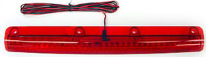 "00-03 Nissan Maxima JSP LED Light for Spoiler -  15 1/2 x 1 1/4"" (2 Hole Red/Clear)"
