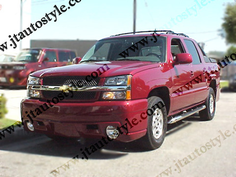 02-Up Chevrolet Avalanche JT Autostyle Evo 6 Body Kit - FULL KIT