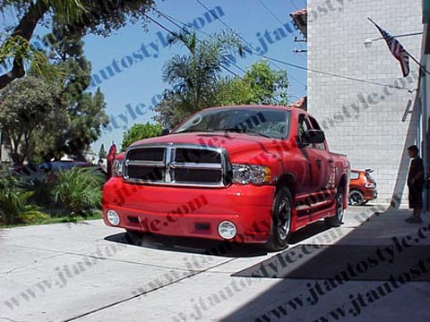 02-Up Dodge Ram JT Autostyle Evo 5 Body Kit - FULL KIT