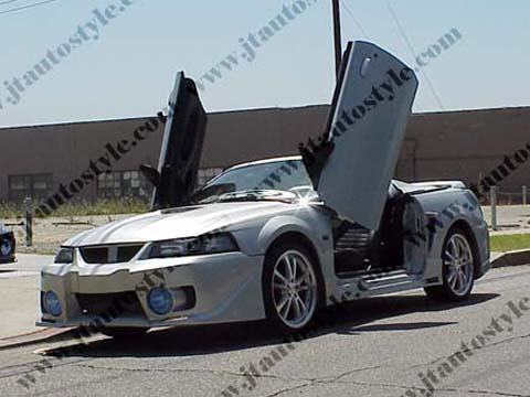 1999-2004 Ford Mustang JT Autostyle BW Body Kit - Side Skirts