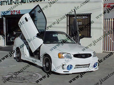 00-03 Hyundai Accent JT Autostyle Evo 5 Body Kit - FULL KIT