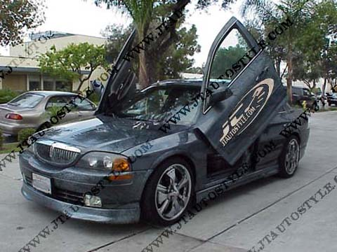 01-Up Lincoln LS JT Autostyle Evo 6 Body Kit - FULL KIT