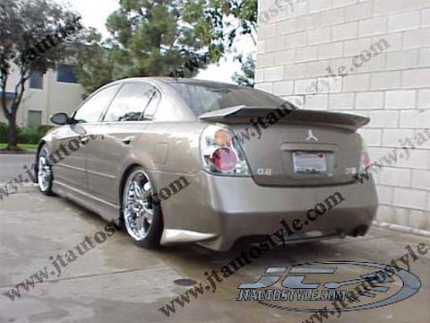 2002-2006 Nissan Altima JT Autostyle Evo 2 Body Kit - Rear Bumper