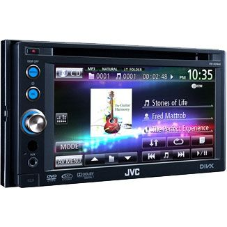 1987-1995 Isuzu Pick-up JVC Double DIN DVD / CD / USB Receiver with Proximity Sensor and 6.1 Inch Widescreen Touch Panel Monitor