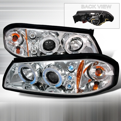 00-05 Chevrolet Impala JY Projector Headlights - Chrome