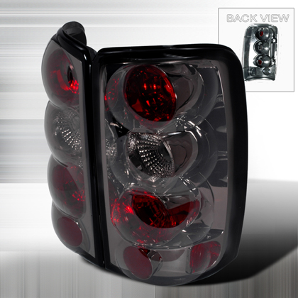 00-06 Gmc Denali Yukon JY Tail Lights - Gunmetal