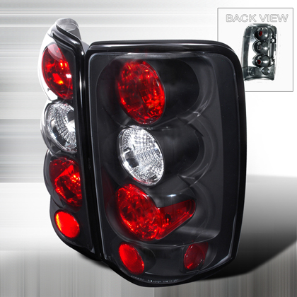 00-06 Gmc Denali Yukon JY Tail Lights - Black