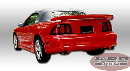 1994-1998 Ford Mustang KBD Saleen Body Kit - Rear Bumper Valance (Urethane)