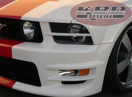 05-09 Mustang KBD Headlight Splitters - Pair (Urethane)