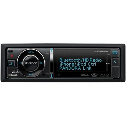 1979-1982 Ford LTD Kenwood In-Dash USB/CD Receiver With Built-In Bluetooth/HD Radio