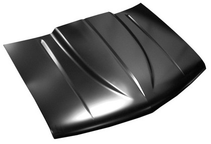 1988-1998 GMC Pickup Truck KeyParts Cowl Induction Style Hood